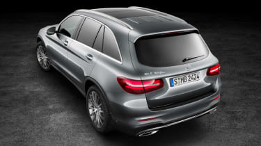 Mercedes GLC static roof