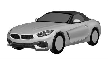 BMW Z4 sketch - front