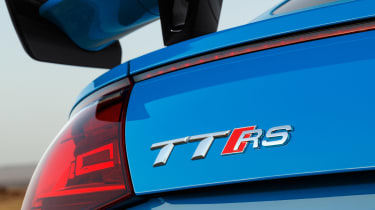 Audi TT RS Coupe - TT RS badge