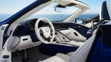Lexus LC Convertible - interior