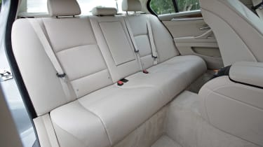 Used BMW 5 Series - rear seats