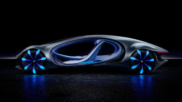 Mercedes Vision AVTR concept - side studio
