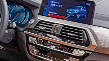 New BMW X3 - interior