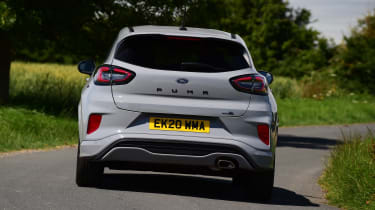 Ford Puma ST-Line: long-term test review - rear