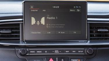 Kia Ceed Sportswgaon - radio