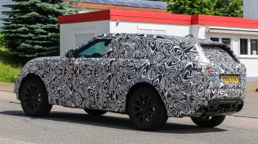 Range Rover Sport Coupe - spy shots rear quarter