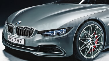 BMW 6 Series exclusive image - front detail