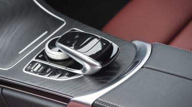 Mercedes C-Class Coupe - infotainment controls