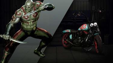 Harley Davidson Marvel Super Hero Customs - Drax Persuasive