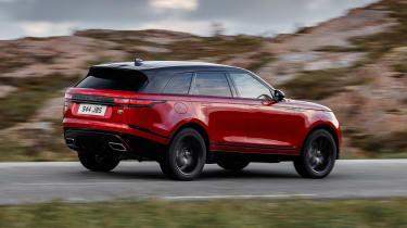 Range Rover Velar - rear action