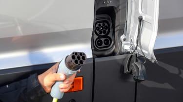 Volkswagen e-Crafter plug socket