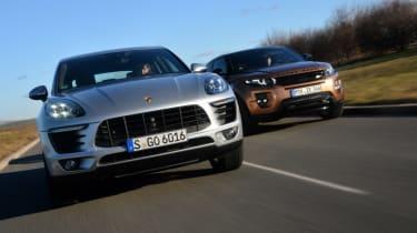 Porsche Macan vs Range Rover Evoque main