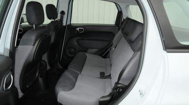 Fiat 500L seats