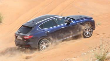Maserati Levante - side off-road