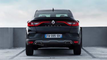Renault Arkana - full rear black static