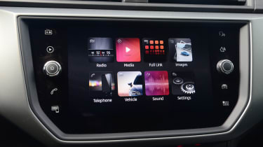 New SEAT Ibiza - infotainment