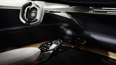 Aston Martin Lagonda Vision concept - dash