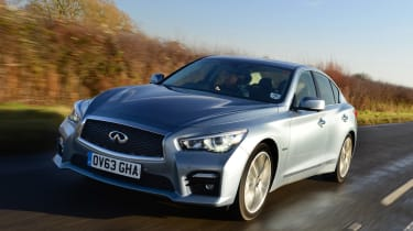 The Infiniti Q50 replaces the unpopular G37 and competes with the BMW 3-Series and Audi A4.
