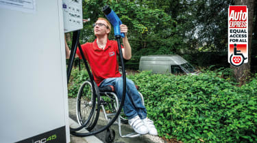 EV charger accessibility