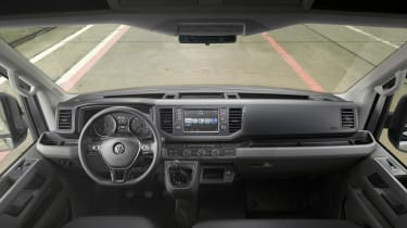 2017 Volkswagen Crafter - interior