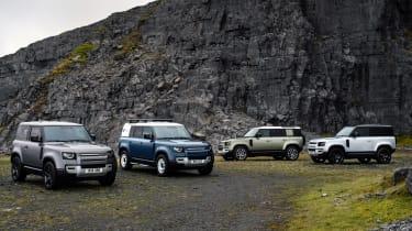 New Land Rover Defender range