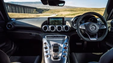Mercedes-AMG GT interior - Footballers' cars