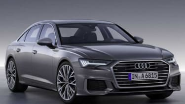 Audi A6 - leaked front grey