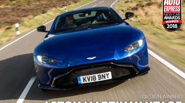 Aston Martin Vantage - 2018 Design Award winner