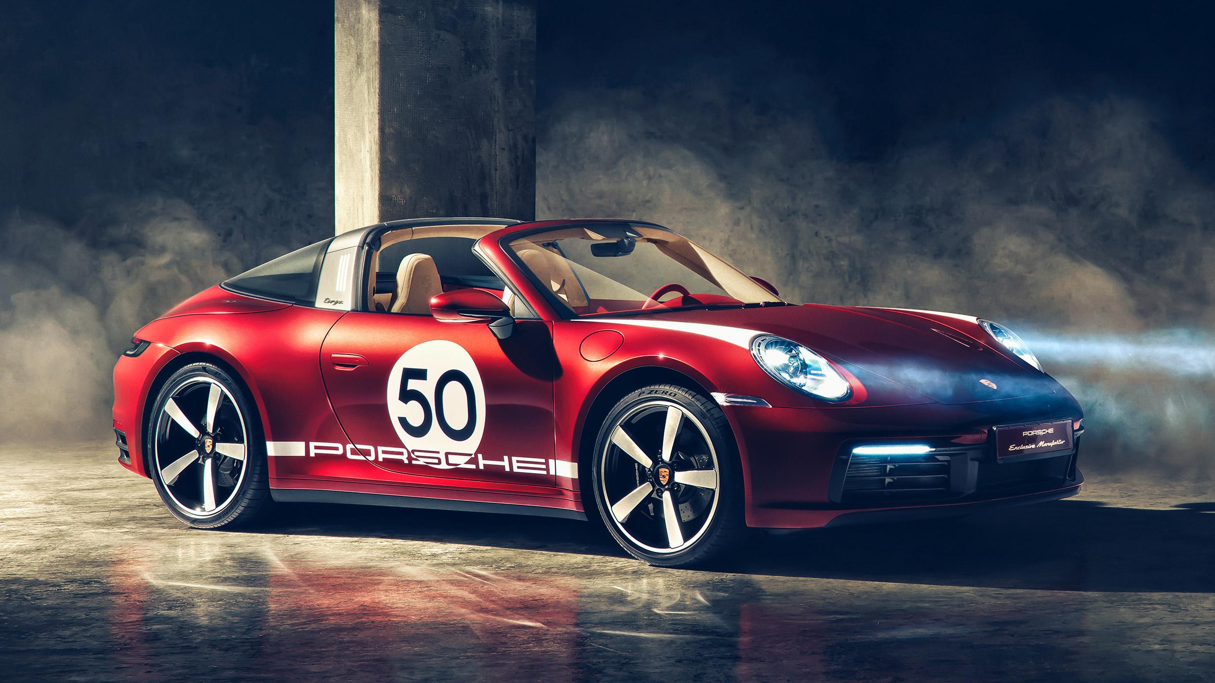 New Porsche 911 Targa 4S Heritage Edition launched | Auto ...