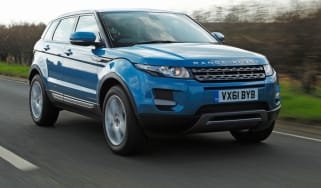 Range Rover Evoque 2WD front tracking