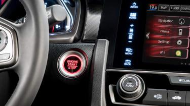 Honda Civic - buttons