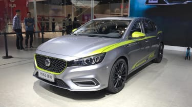 MG 6 motor show front