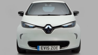 Used Renault ZOE - full front