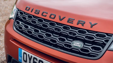 Land Rover Discovery Sport grille