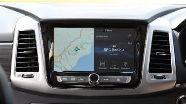 SsangYong Rexton long term infotainment