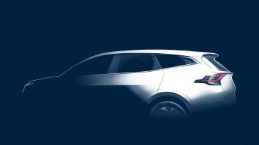 Kia Sportage - rear teaser