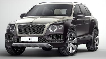 Bentley Bentayga Mulliner - front
