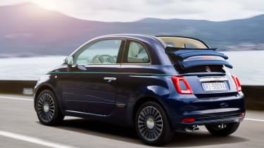 Fiat 500 Riva - rear tracking