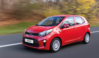 Picanto front driving