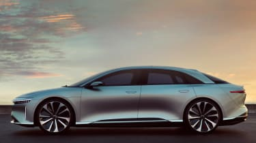 Lucid Air side