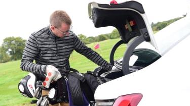 BMW 3 Series long term - Sean Golf boot