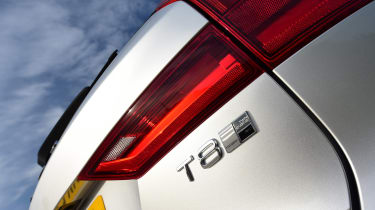 Volvo V90 T8 - T8 badge