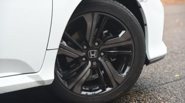 Honda Civic long-term review - Civic wheel