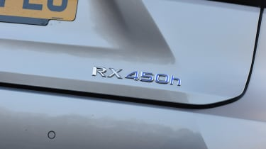 Lexus RX 450h - badge detail
