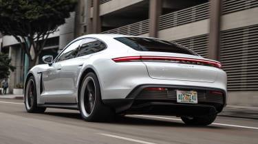 Porsche Taycan 4S - rear