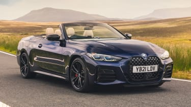 BMW M440i Convertible - front static