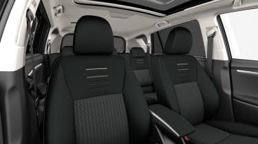 Toyota Verso 2016 - European model seats