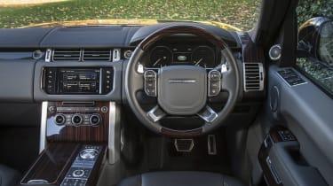 Range Rover SVAutobiography - dash