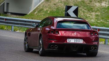 Ferrari GTC4 Lusso - rear cornering