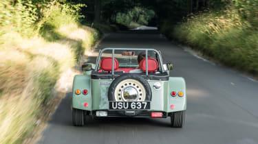 Caterham Seven Sprint - rear tracking
